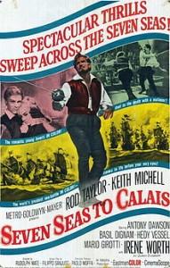 poster Il dominatore dei 7 mari - Seven Seas to Calais (1962)