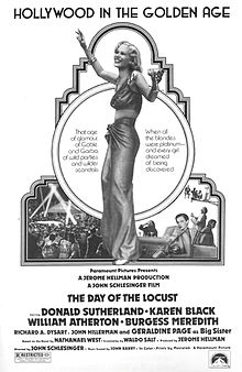poster Vechiul Hollywood - The Day of the Locust (1975)