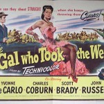 poster The Gal Who Took the West (1949)