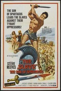 poster The Slave - Il figlio di Spartacus (1962)
