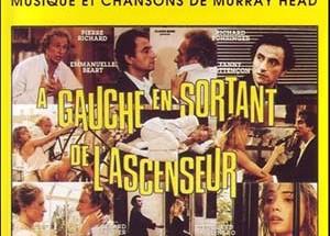 poster A gauche en sortant de l'ascenseur (1988)