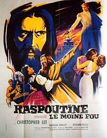 poster Rasputin The Mad Monk (1966)