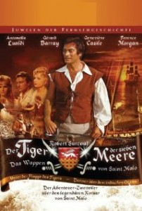poster Surcouf Le Tigre Des 7 Mers aka Surcouf, l'eroe dei sette mari (1966)