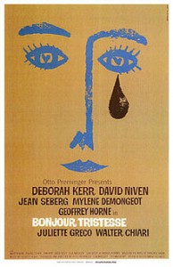 poster Bonjour Tristesse (1958)