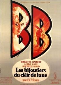 poster Les bijoutiers du clair de lune (1958)
