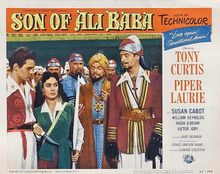 poster Son Of Ali Baba (1952)