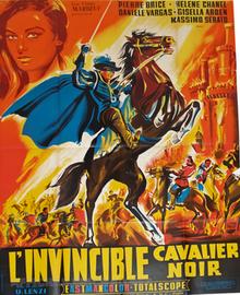 poster L'invincibile cavaliere mascherato (1963)