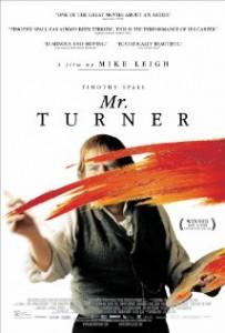 poster Mr. Turner (2014)