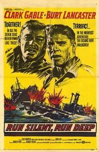 poster Run Silent, Run Deep (1958)