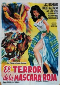 poster Terror of the Red Mask (1960)