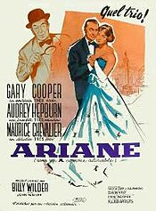 poster Love In The Afternoon (1957)