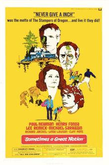 poster Film - Oameni de neclintit - Sometimes a Great Notion (1970)