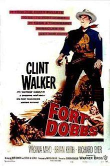 poster Fort Dobbs (1958)