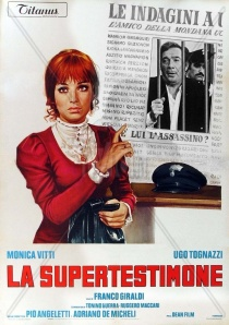 poster La Supertestimone (1971)
