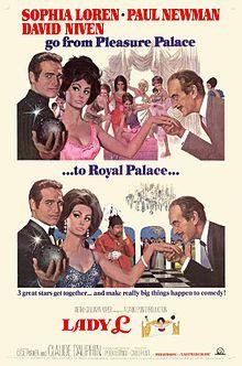 poster Lady L (1965)