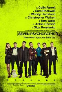 poster Seven Psychopaths (2012)