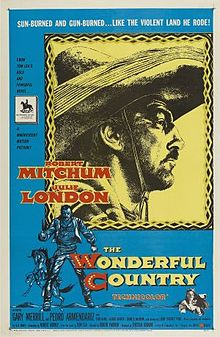 poster The Wonderful Country (1959)