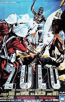 poster Zulu (1964)