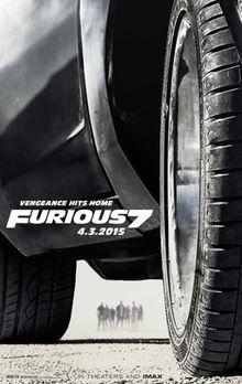 poster Furious Seven (2015)