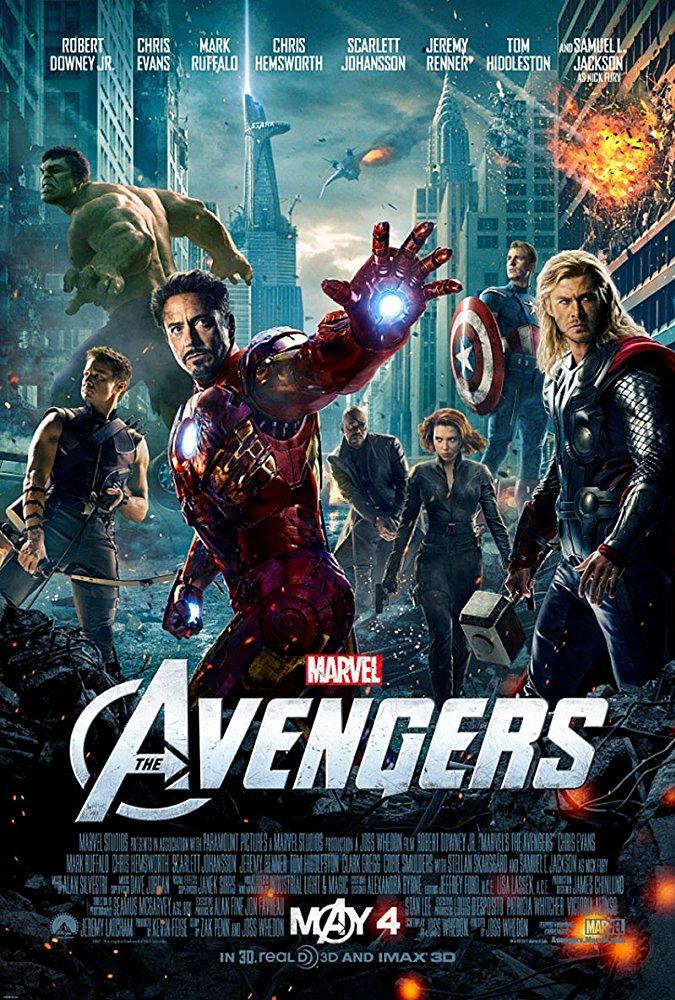 poster The Avengers (2012)