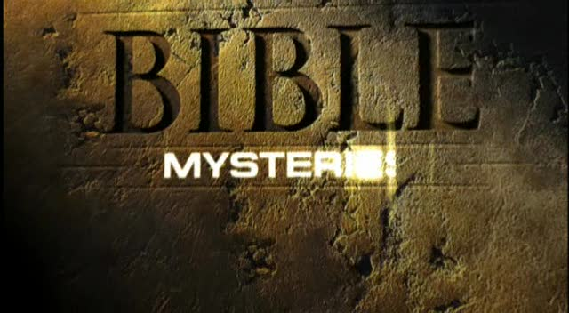poster BBC Bible Mysteries 2003