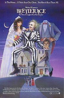 poster Beetlejuice (1988)