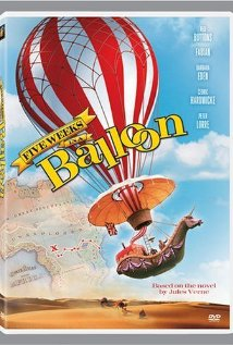 poster Five Weeks in a Balloon (1962)