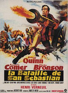 poster Guns for San Sebastian (1968)