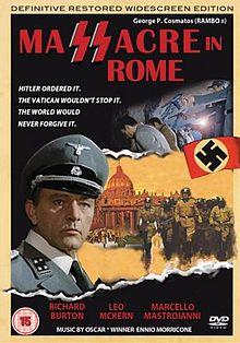poster Massacre in Rome - Rappresaglia (1973)