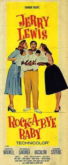 poster Rock-a-Bye Baby (1958)