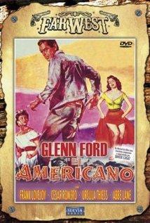 poster The Americano (1955)
