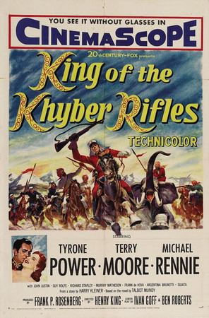 Poster - King of the Khyber Rifles