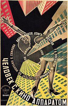 poster Человек с киноаппаратом - Man with a Movie Camera (1929)