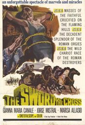 poster Le Schiave Di Cartagine aka The Sword and the Cross (1956)