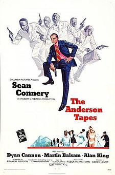 poster The Anderson Tapes (1971)