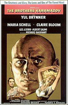 poster The Brothers Karamazov (1958)