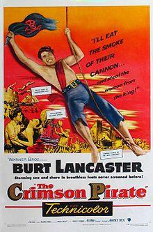 poster The Crimson Pirate (1952)