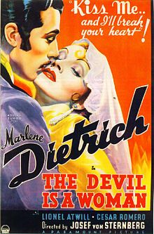 poster The Devil Is a Woman (1935)