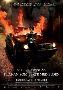 poster The Girl Who Played With Fire (2009)