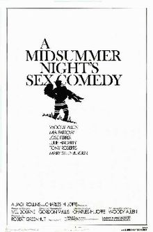 poster A Midsummer Night's Sex Comedy (1982)