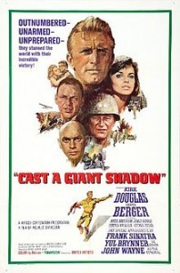 poster Cast A Giant Shadow (1966)