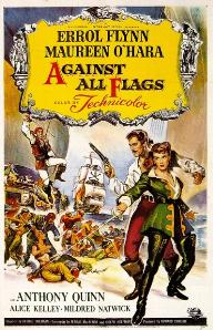 poster Against All Flags (1952)