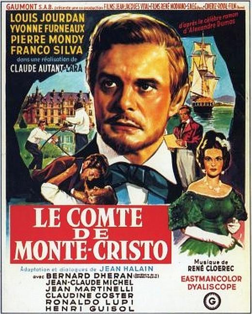 poster Le comte de Monte Cristo (1961)
