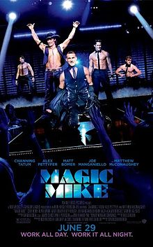 poster Magic Mike (2012)
