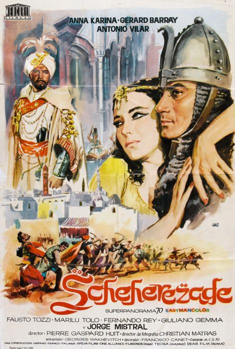 poster Scheherazade (1963)