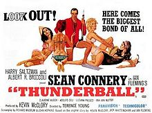 poster Thunderball (1965)