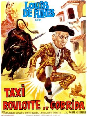 poster Taxi, roulotte et corrida (1958)