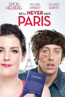 poster We'll Never Have Paris (2014)