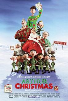 poster Arthur Christmas (2011)