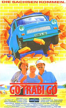 poster Go Trabi Go (1991)